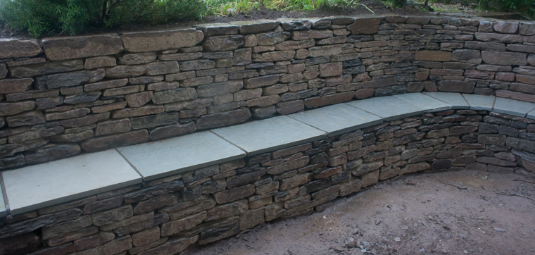 Stone Inspired Dry Stone Walling Garden Design and Landscaping