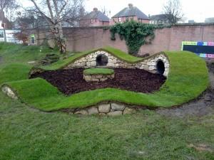 Dry stone playpark