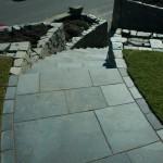Dry stone stairs Edinburgh