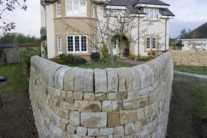 A well built dry stone wall