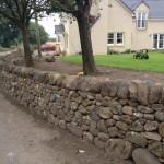 Bathgate dry stone wall