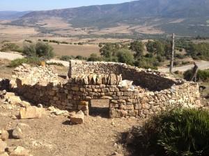 Dry stone corral