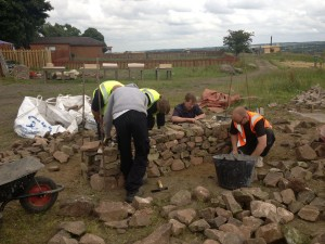 Dry stone walling training course