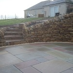 Steps and paving
