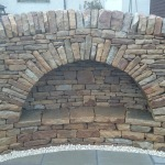 Dry stone arch