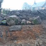 Big stone boulders