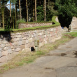 Dry stone entrance way