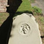 Capelrig Way dry stone art