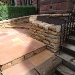 Dry stone garden