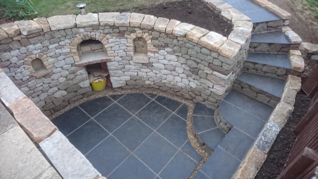 Edinburgh pizza oven transformation after