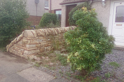 Cairneyhill drystone wall